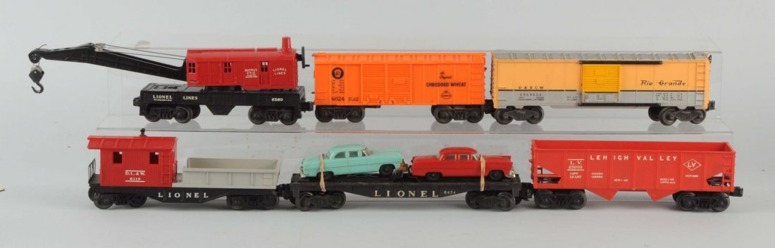 Lionel No. 1581 Boxed Freight Set.
