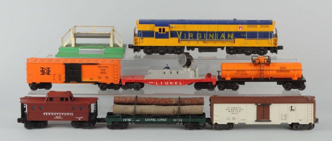 7 Piece Virginian Piece Train Set.