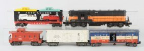 Lot Of 5: Lionel No.2338 Loco. & Freight Cars.