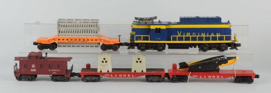 Lot of 5: Lionel No. 2329 Virginian Set.