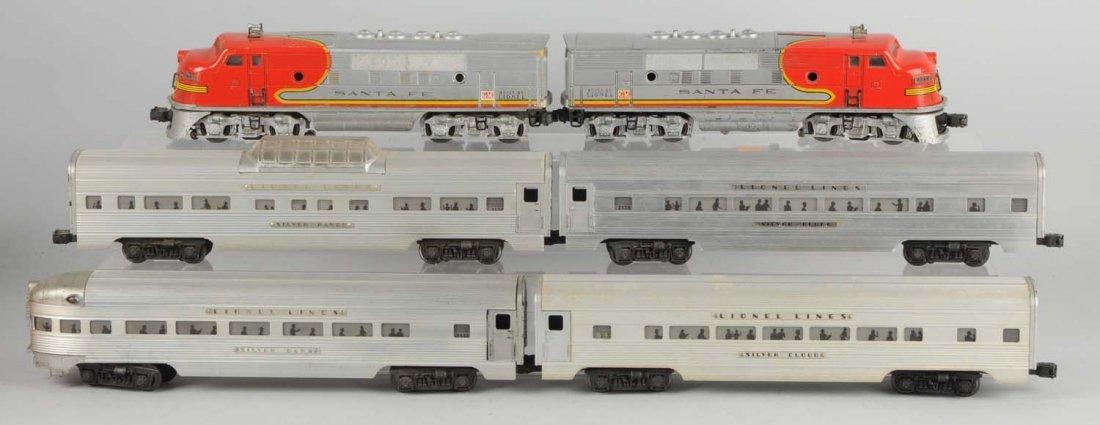 Lionel No. 2343 Santa Fe Passenger Set.