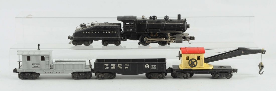 Lionel 1407 B Set with Freights.