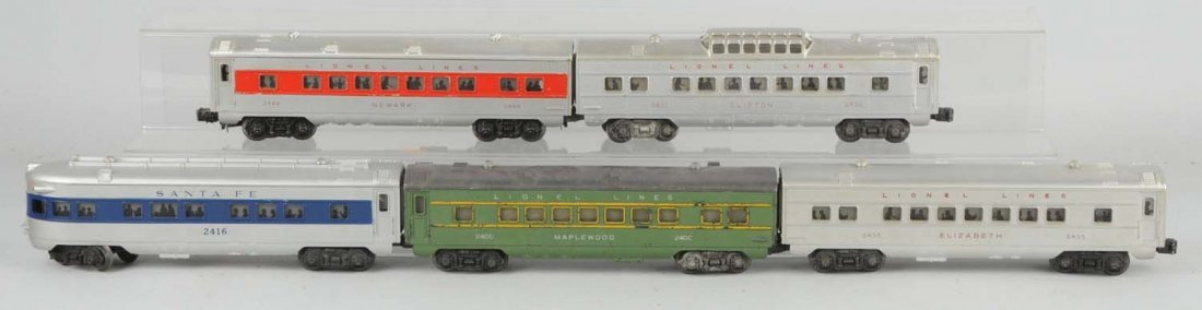 Lot of 5: Assorted Passenger Cars.