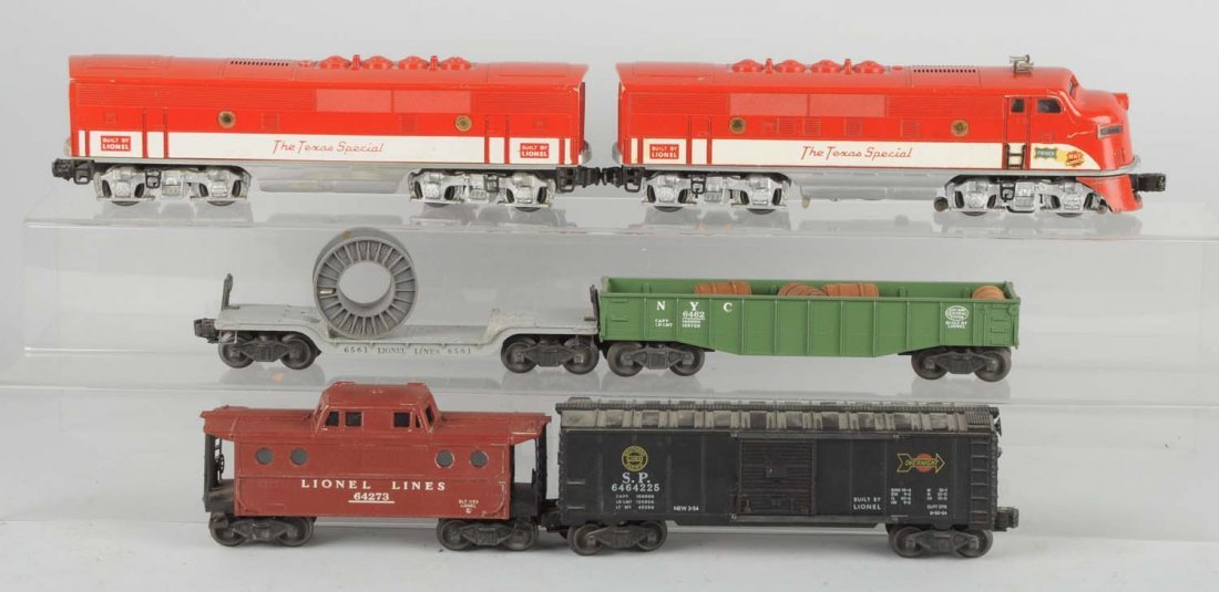 Lionel 2245 Texas Special Set.