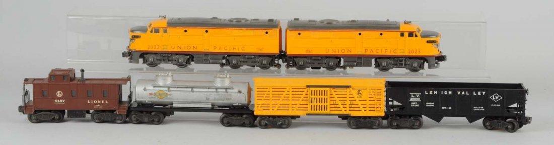 Lionel 2023 Union Pacific Freight Set.