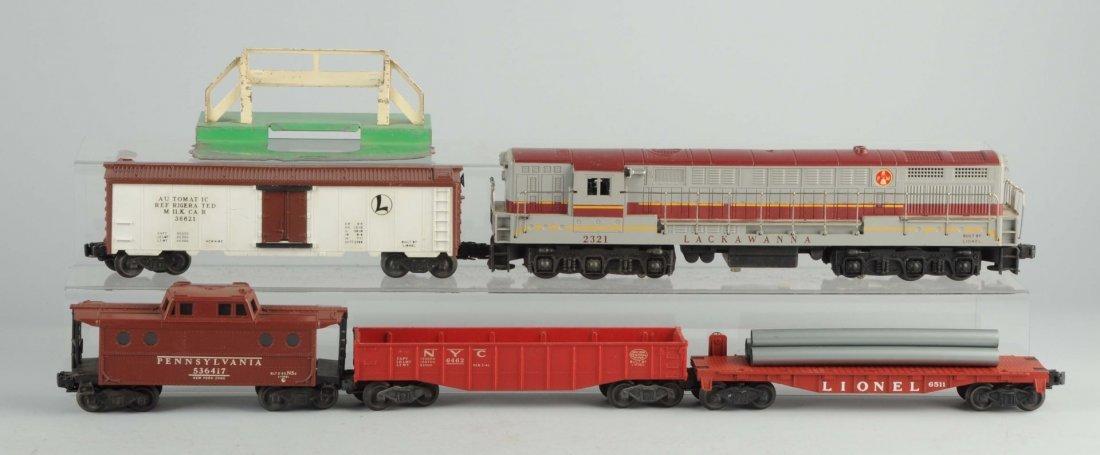 Lionel No. 2243WX Boxed Set.
