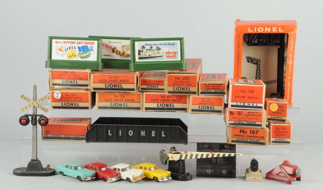 Large Lot Of Lionel Accessories and Parts.