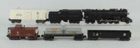 Lot Of 6: Lionel No. 736 Engine & Freight Cars.