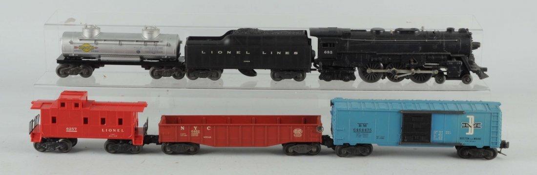 Lionel No. 685 Locomotive & Tender.