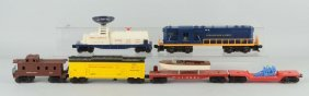 Lot Of 6: Lionel No. 2365 Engine & Freight Cars.