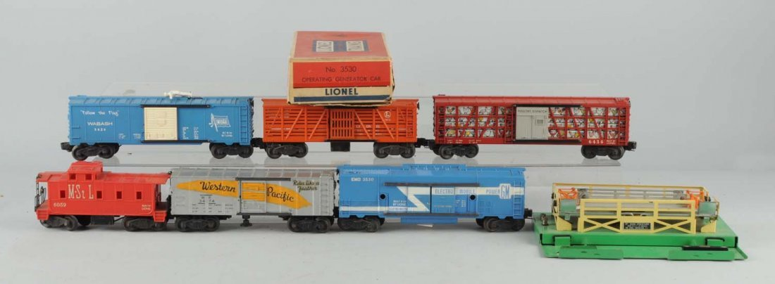 Lot of 6: Lionel Rolling Stock.
