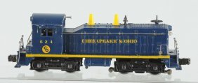 Lionel No. 624 C & O Diesel Switcher