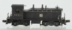 Lionel No. 623 Santa Fe Diesel Switcher.