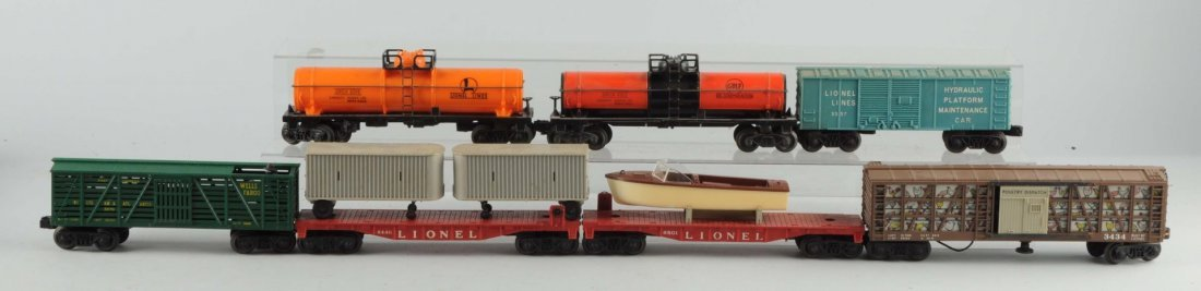 Lot Of 7: Lionel Post War Freight Cars.