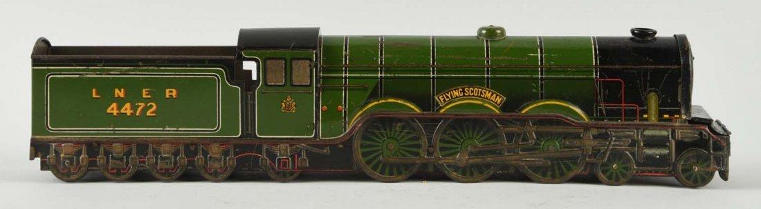 Unusual Flying Scotsman Train Engine Biscuit Tin.