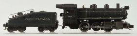 Lionel No. 227 Semi Scale Steam Engine And Tender.