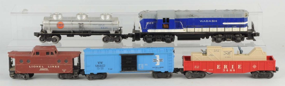 Lionel No. 2275W Boxed Freight Set.