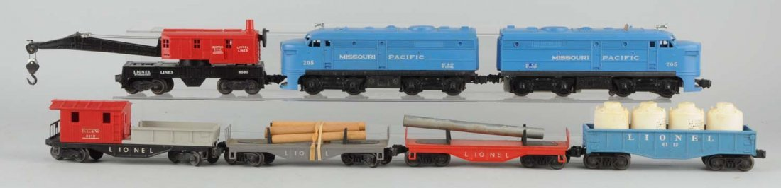 Lionel No. 1575 Missouri Pacific Alco Set.