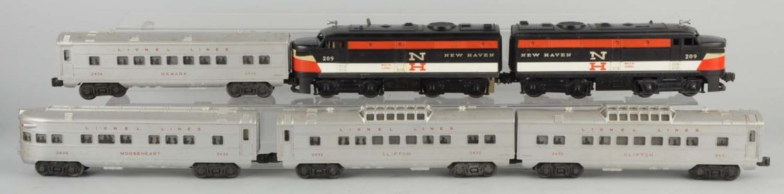 Lionel No. 1608W 1958 New Haven Alco Set.