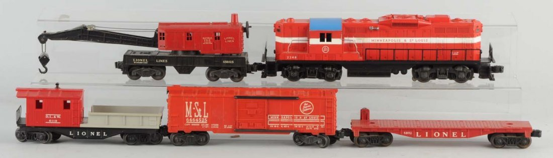 Lionel No.2348 Minneapolis & St. Louis & Freights.