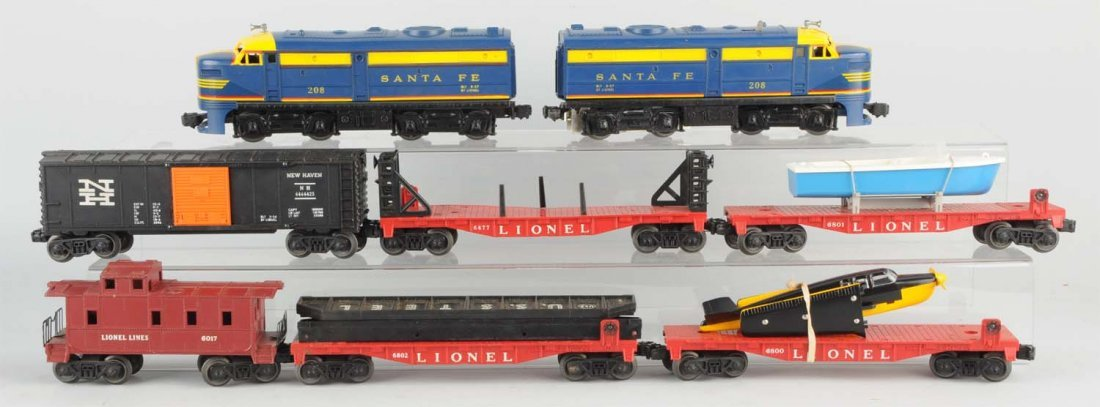 Lionel No. 1605W Boxed Diesel Freight Set.