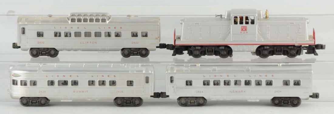 Lionel No. 1552 Burlington Passenger Set.