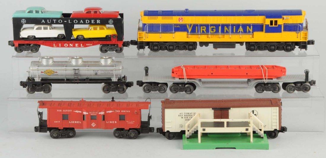 Lionel No. 2285 Virginian Boxed Set.