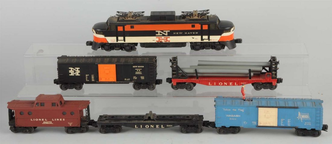 Lionel No. 2279W Boxed Freight Set.