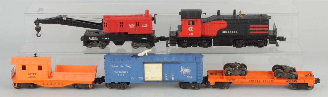 Lionel No. 2255W Boxed Freight Set.