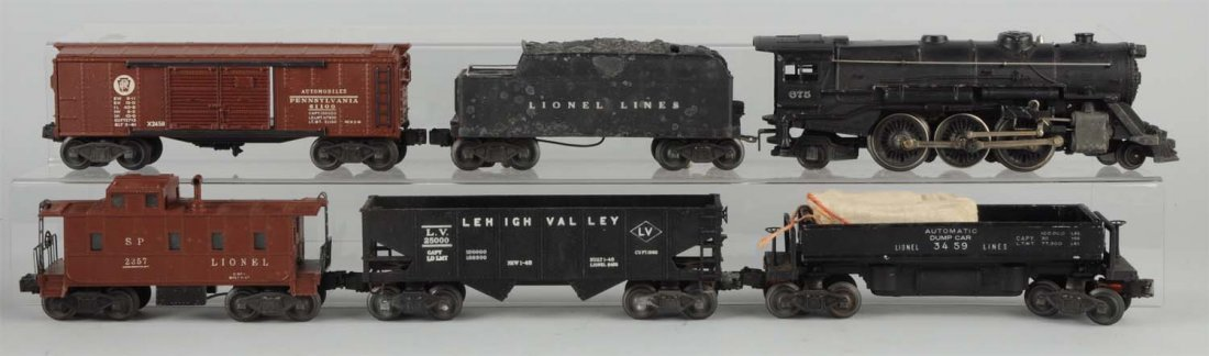 Lionel No. 2137WS Boxed Freight Set.