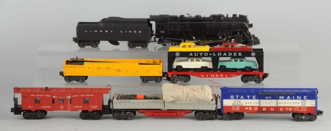 Lionel No. 2249WS Boxed Set Circa 1955.