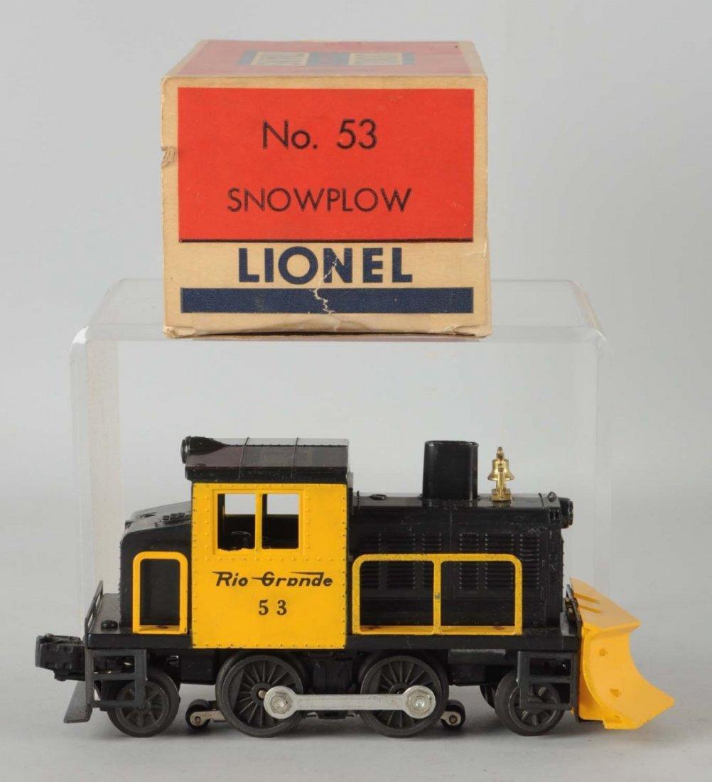 Lionel No. 53 Rio Grande Snow Plow.