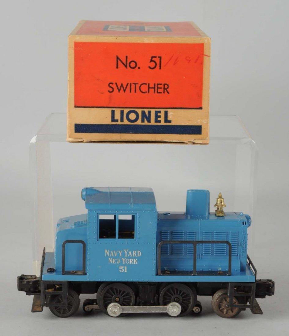Lionel No. 51 Navy Switcher.