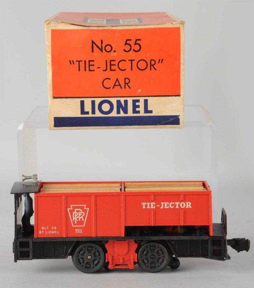 Lionel No. 55 Tie-Jector Car.