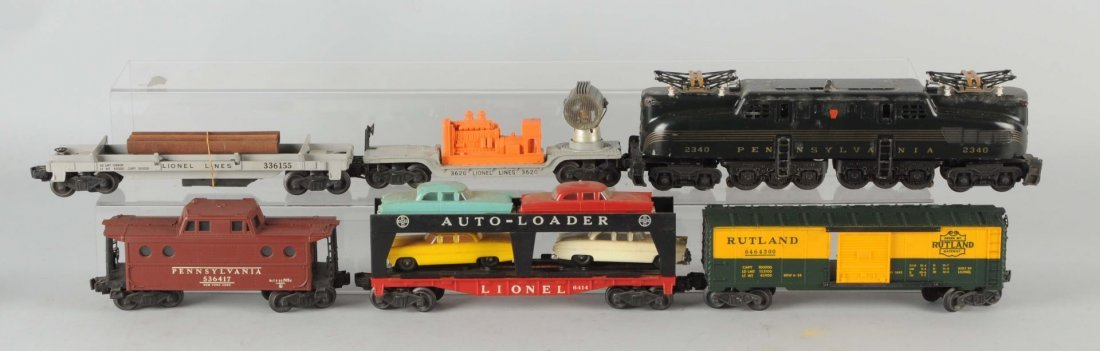Lionel No. 830 Boxed Freight Set.