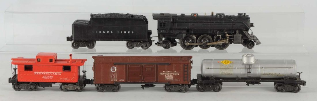 Lionel No. 2103W Boxed Freight Set.