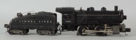Lionel No. 1656lt Steam Locomotive & Tender.
