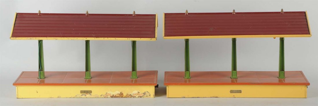 Lot Of 2: Lionel No. 155 Freight Sheds.