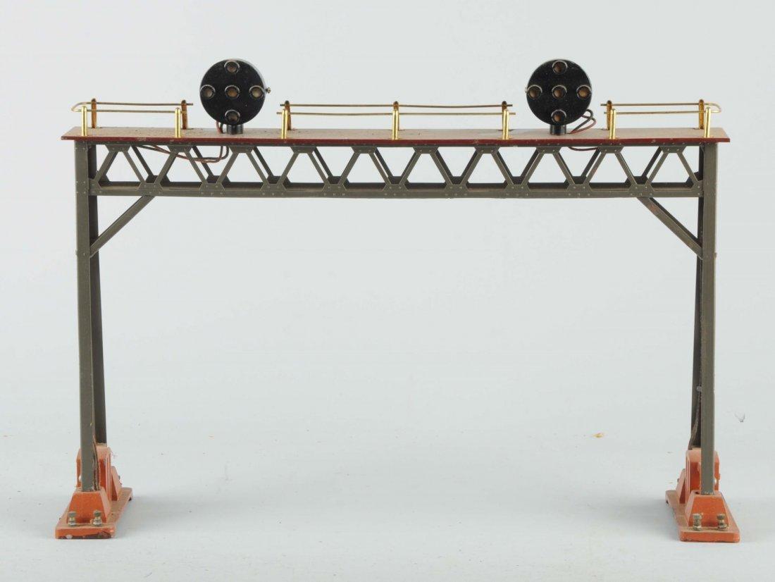 Lionel No. 440 Signal Bridge.