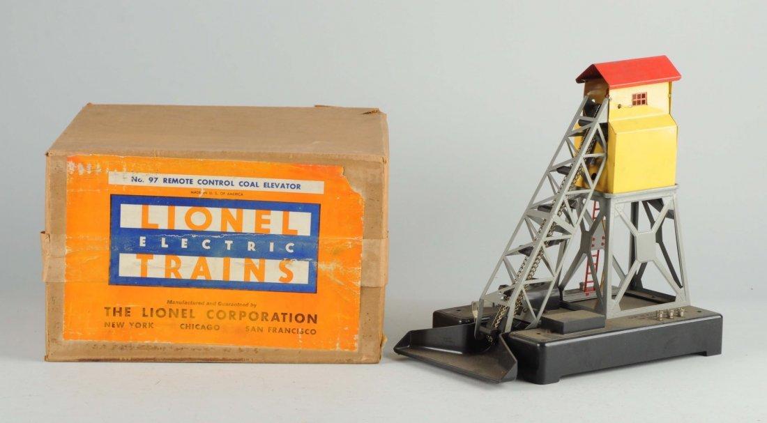 Lionel No. 97 Remote Control Coal Elevator.