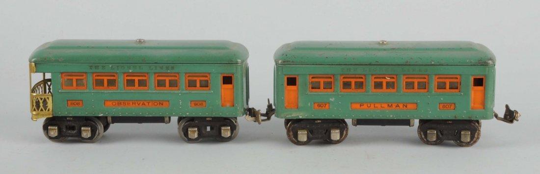Lot Of 3: Lionel Passenger Cars & Empty Boxes.