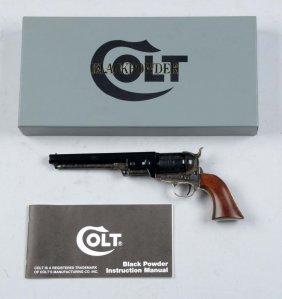 (a) Colt Black Powder Revolver