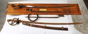 Lot Of 6: Excavated Weapons.