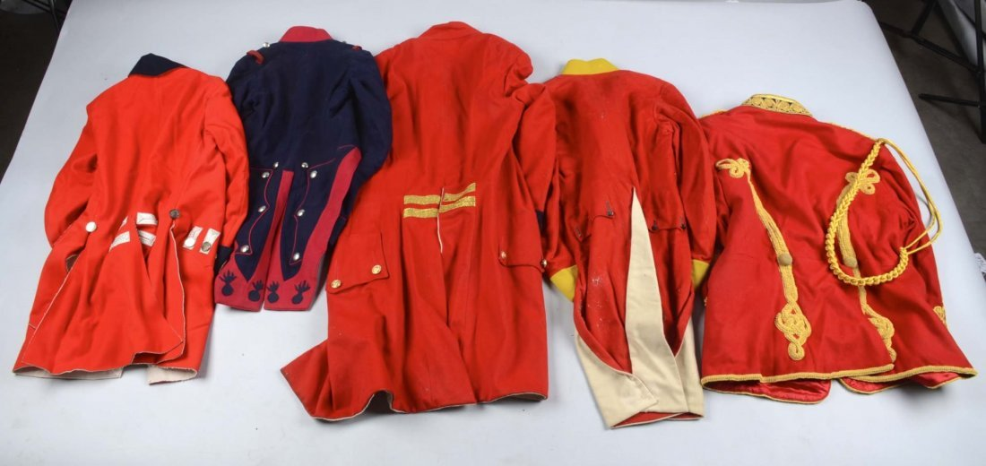 Lot of 5: Military Reproduction Uniforms. - 2