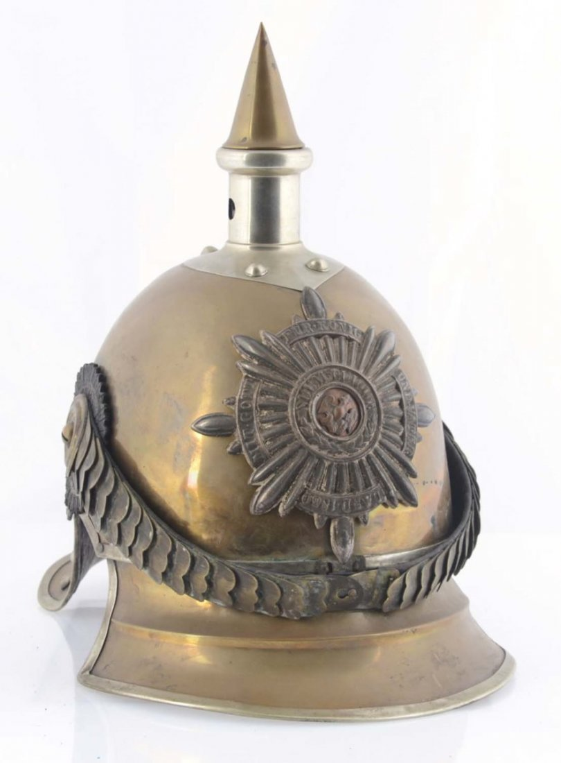 Reproduction Garde Du Corps Metal Helmet.