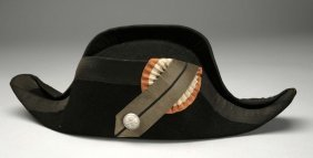 French Officer's Chapeau Or Bicorn.