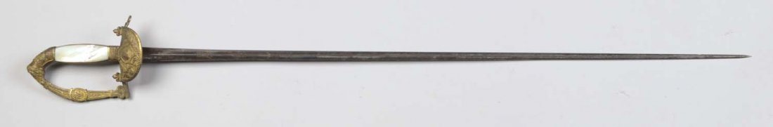 French Restoration Officer's Small Sword.