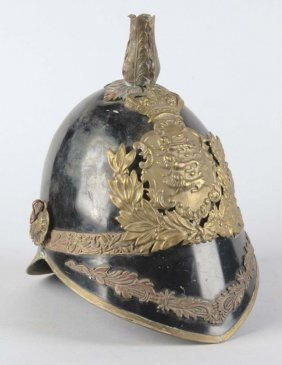British Model 1874 Metal Helmet.