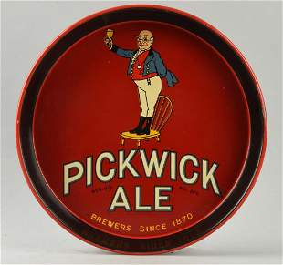Pickick Ale Advertising Serving Tray.