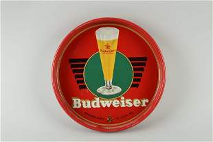 Budweiser Advertising Serving Tray.